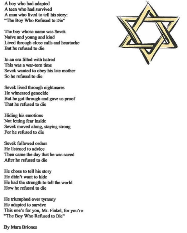 Quotes From Holocaust Survivors